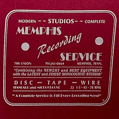 The Memphis Recording Service Logo