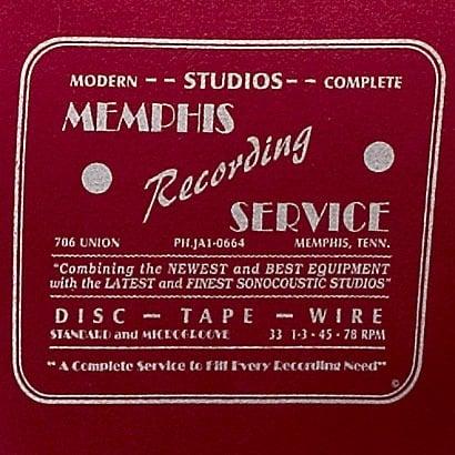The Memphis Recording Service Logo